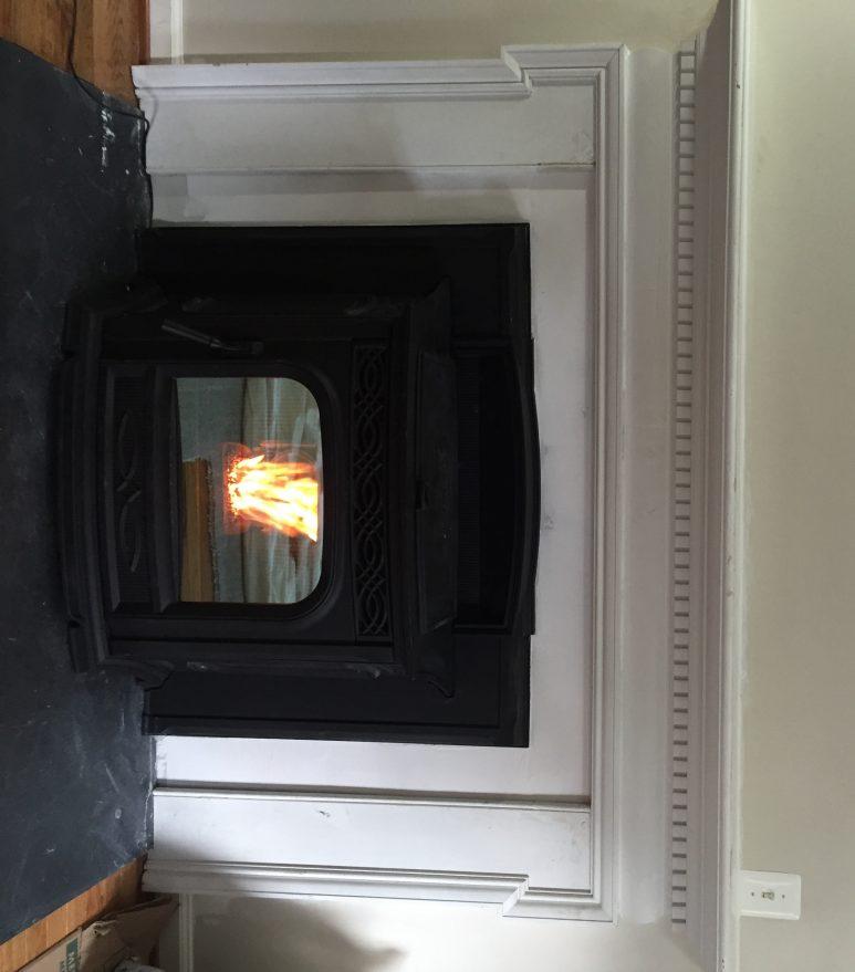 chimney fireplace
