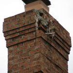 crumbling chimney