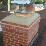 cast in place chimney crown