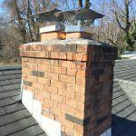 water chimney damage