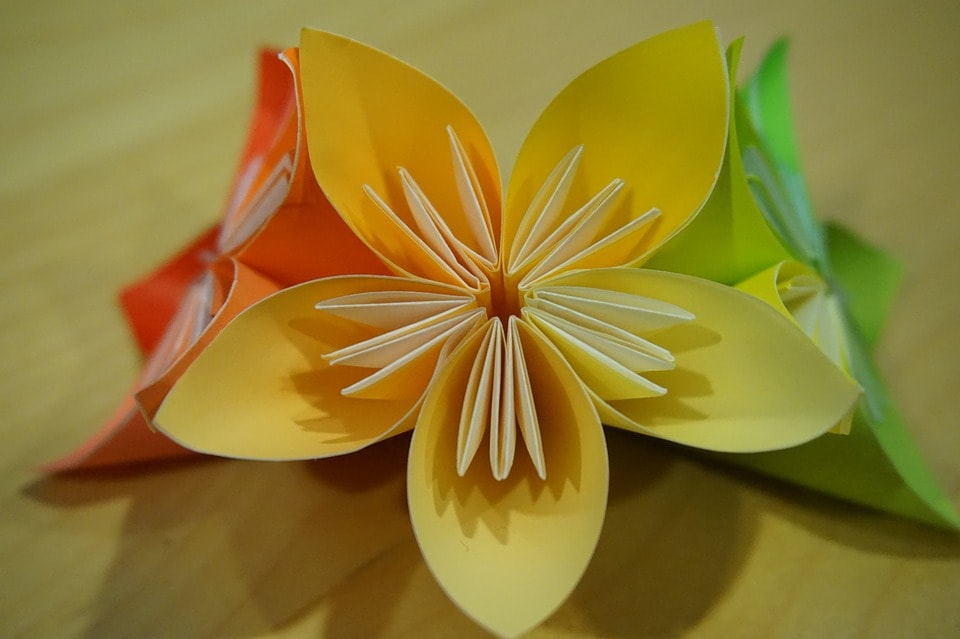 fall diy paper flowers