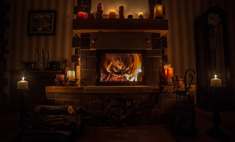 fireplace serviced in Maryland