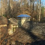 completed chimney repair in Potomac, MD
