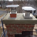 concrete chimney crown