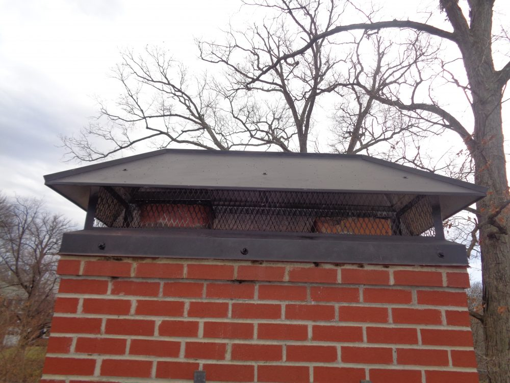 repaired chimney in Montgomery County, MD