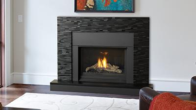 repaired gas fireplace