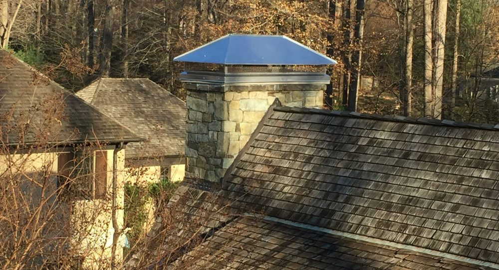 chimney crown repaired in Germantown, MD