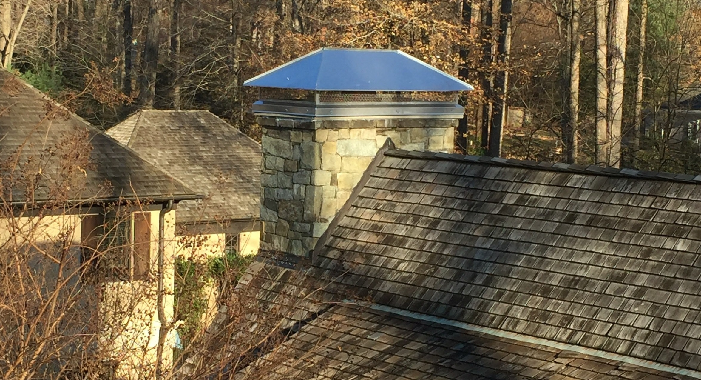 chimney serviced in Howard County, MD