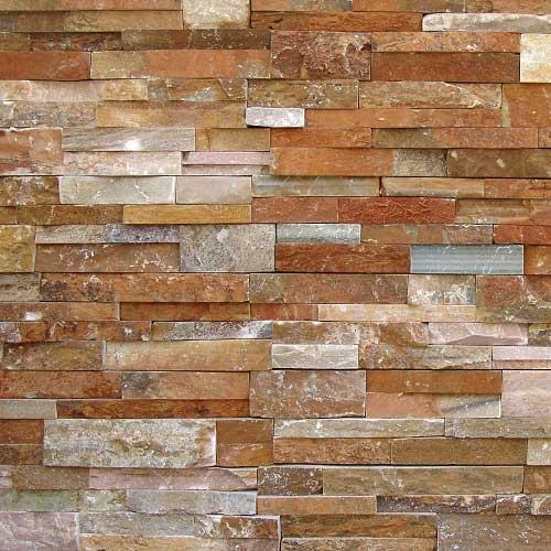 installed cultured stone veneer