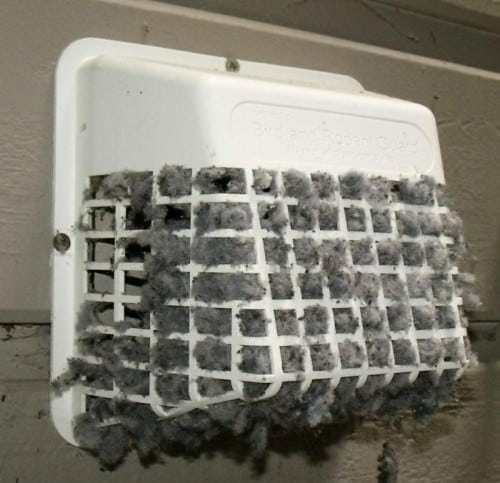 clean dryer vent