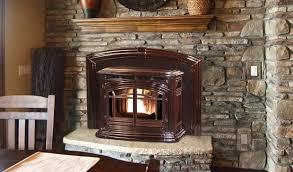 installed pellet stove insert in elkridge, md