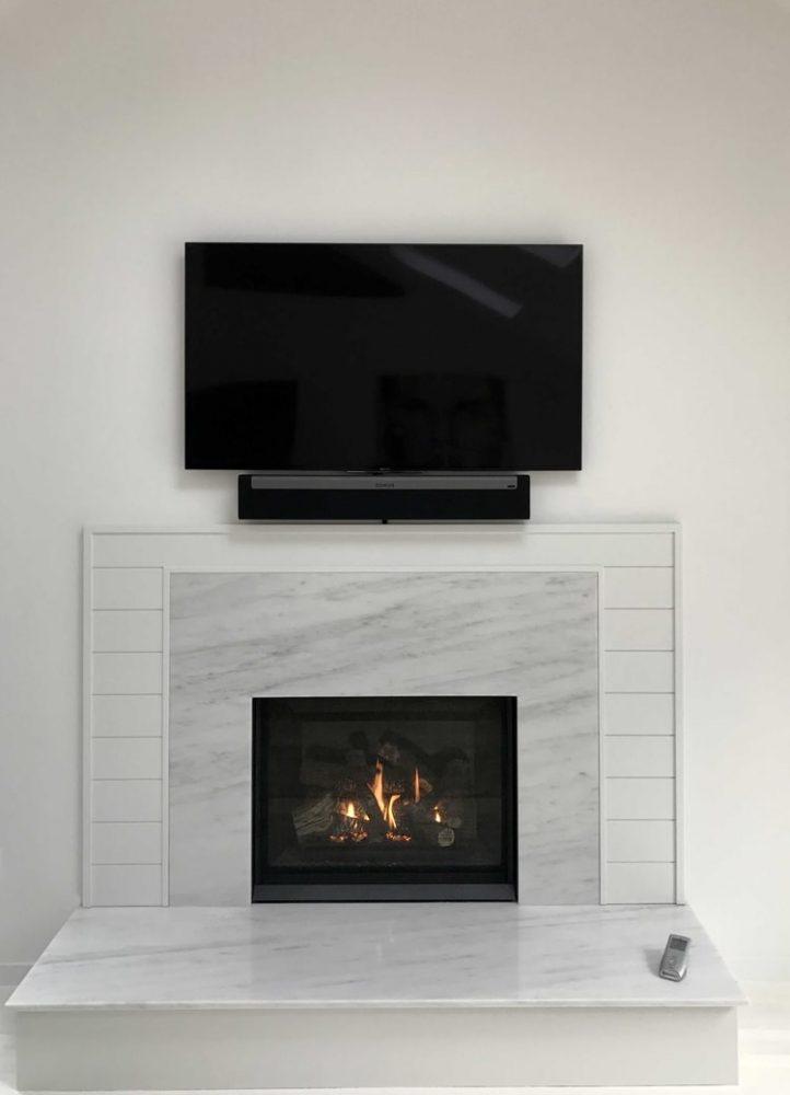 Traditional Regency Fireplace