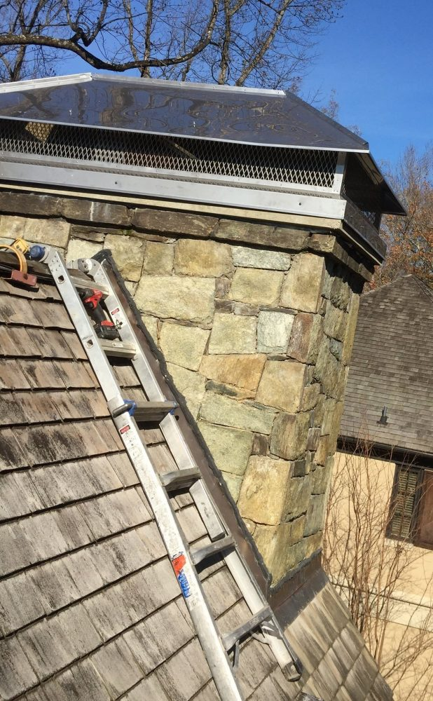 chimney cleaned in Vienna VA