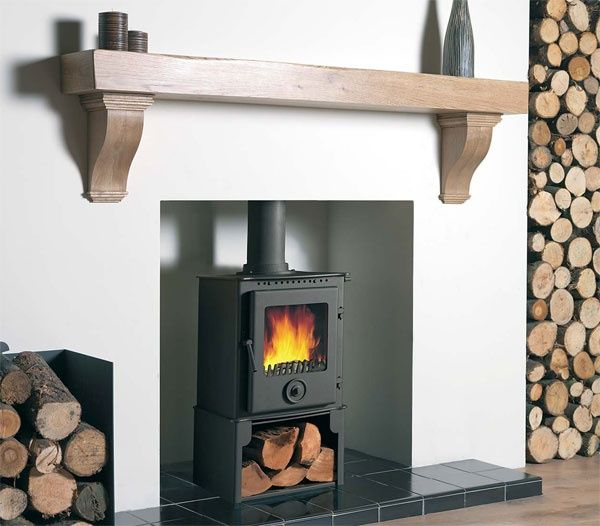 installed gas fireplace