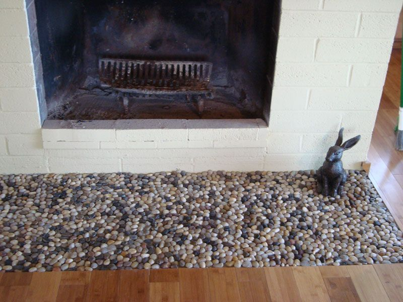 fireplace floor extension