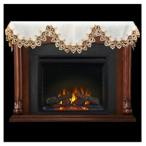 scarf mantel decoration