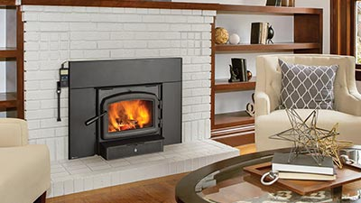 Regency® Cascades™ I1500 Wood burning fireplace Insert