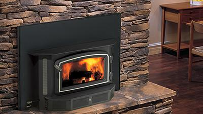 Wood burning fireplace Insert from Regency