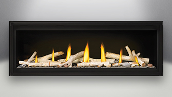 napoleon Luxuria gas fireplace