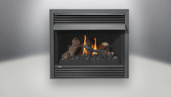 Napoleon ventless Gandville gas fireplace